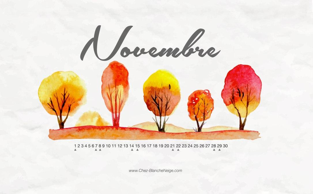 Novembre-Calendar